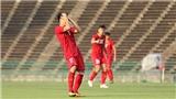VIDEO:Bỏ lỡ nhiều cơ hội, U22 Việt Nam hòa 0-0 trước U22 Thái Lan