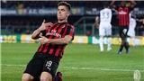 VIDEO Chievo 1-2 AC Milan: Piatek không ngừng ghi bàn, Milan tạm bỏ xa Inter