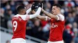 Arsenal 2-0 MU: Aubameyang tỏa sáng, Arsenal trở lại Top 4 Premier League