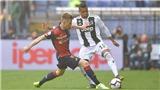 VIDEO Genoa 2-0 Juventus: Vắng Ronaldo, Juve thua trận đầu tiên
