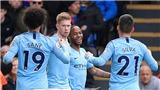 Crystal Palace 1-3 Man City: Raheem Sterling lập cú đúp, Man City lấy lại ngôi đầu Premier League