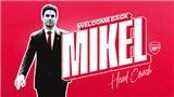 Arsenal chính thức bổ nhiệm Mikel Arteta làm HLV trưởng