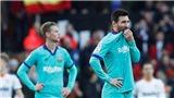 Valencia 2-0 Barca: Thất bại đầu tiên của Quique Setien