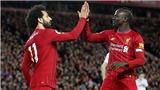 """Liverpool 2-0 Sheffield United: Salah và Mane giúp đội quân của Klopp tiếp tục """"vô đối"""""""