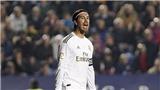 Levante 1-0 Real Madrid: Thua sốc, Real Madrid đánh mất ngôi đầu bảng