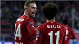 Salah và Henderson cùng có con, 9 tháng sau trận thắng Barca 4-0