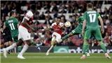 Arsenal: Emery rất nghiêm túc với Europa League. Aubameyang thể hiện bản năng sát thủ