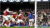 """VIDEO Everton 1-0 Arsenal: Hàng công chơi bế tắc, """"Pháo thủ"""" xứng đáng thua Everton"""