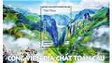 Phát hành bộ tem giới thiệu 3 công viên địa chất toàn cầu tại Việt Nam
