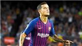 23h55 ngày 18/9, Barcelona vs PSV: Coutinho là suối nguồn tái sinh của Barca