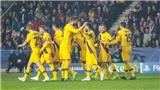 Kết quả Cúp C1 sáng nay: Messi lập kỷ lục vô tiền khoáng hậu. Oxlade-Chamberlain tỏa sáng rực rỡ