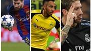 Đội hình tiêu biểu vòng 1/8 Champions League: Ramos sánh vai cùng Messi và Neymar. Ronaldo mất tích