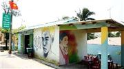 Những bức ảnh lý giải Làng bích họa ở Quảng Nam 'hút khách'
