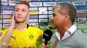 Trai đẹp Marco Reus văng tục trên truyền hình vì bị phóng viên chất vấn