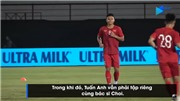 Video: Xuân Mạnh mặc áo số 6 của Xuân Trường, sẵn sàng 'chiến' Indonesia