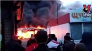 Nga: Cháy chợ có nhiều gian hàng của người Việt