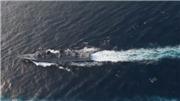 VIDEO: Tàu khu trục Mỹ tuần tra hàng hải tại Biển Đông