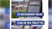 Bỉ xuất hiện nhà hàng phục vụ nước uống tái chế từ... toilet