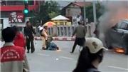 Vụ TNGT nghiêm trọng ở đường Lê Văn Lương: Cán bộ CSGT lao vào đám cháy cứu người nói gì?
