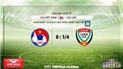 VIDEO Kèo bóng đá: U22 Việt Nam đấu với U22 UAE (18h hôm nay). Trực tiếp VTC1, VTC3, VTV6