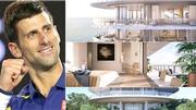 Djokovic tận hưởng cuộc sống xa hoa