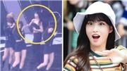 Thán phục các cô nàng Twice xử lý sự cố sân khấu vô cùng chuyên nghiệp