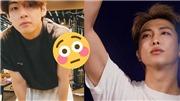 Fan 'phát sốt' khi ngắm những hình ảnh RM và V BTS tập gym