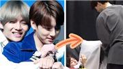 BTS: 'Cưng xỉu' cách Jungkook chăm sóc đàn anh V