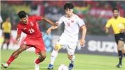 VIDEO Myanmar 0-0 Việt Nam: Trọng tài sai lầm, Việt Nam bị cầm chân trên đất khách