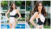 VIDEO: Phương Nga trình diễn bikini quyến rũ tại Miss Grand 2018