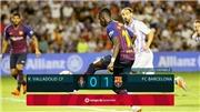 Video clip bàn thắng Valladolid 0-1 Barca: Dembele ghi bàn thắng quý như vàng