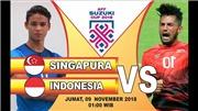Soi kèo Singapore vs Indonesia (19h00 ngày 9/11), vòng bảng AFF Cup 2018