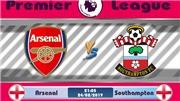 Xem TRỰC TIẾP Arsenal vs Southampton (21h05, 24/2) ở đâu?