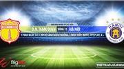 Nam Định vsHà Nội: Trực tiếp bóng đá và nhận định (17h00, 24/05), V League 2019