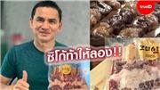 Kiatisak kinh doanh thịt xiên nướng trong mùa dịch COVID-19