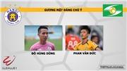 Nhận định và dự đoán bóng đá. Hà Nội vs SLNA. Trực tiếp bóng đá Việt Nam