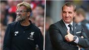 Liverpool vs Leicester City (21h hôm nay). Klopp nghĩ gì về Brendan Rodgers?