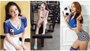Cận cảnh nhan sắc và link facebook 32 hotgirl của 'Nóng cùng World Cup 2018'