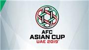 BXH Asian Cup 2019 ngày 17/1. Bảng xếp hạng Asian Cup 2019. Bảng xếp hạng đứng thứ 3 Asian Cup 2019