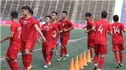 VTV6. VTV5. Xem trực tiếp bóng đá: U22 Việt Nam vs U22 Philippines