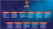 VTV5. VTC3. VTV6. Trực tiếp bóng đá. Lịch thi đấu vòng loại U23 châu Á: Việt Nam vs Thái Lan