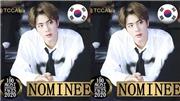 Jin BTS được đề cử cho Top 100 khuôn mặt đẹp trai nhất châu Á