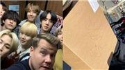 BTS lần đầu biểu diễn 'Black Swan', ARMY được James Corden tặng quà