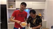 VIDEO: Quốc Trường khiến fan nữ thổn thức khi vào bếp cùng mẹ