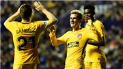 Video clip highlights bàn thắng trận Levante 0-5 Atletico Madrid