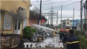VIDEO: Cháy trạm biến áp 110KV Võ Cường, Bắc Ninh mất điện diện rộng