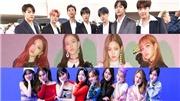 Thành viên đại diện của các nhóm nhạc K-pop hot nhất hiện nay: BTS, Blackpink…