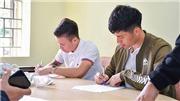 Đình Trọng, Quang Hải đi học làm 'thầy'