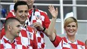Tổng thống Croatia: Nữ CĐV đặc biệt, truyền lửa cho cầu thủ trên khán đàiWorld Cup