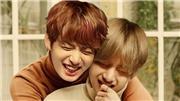 Jungkook và V BTS phản ứng cực ngố khi bị 'anh cả' réo tên